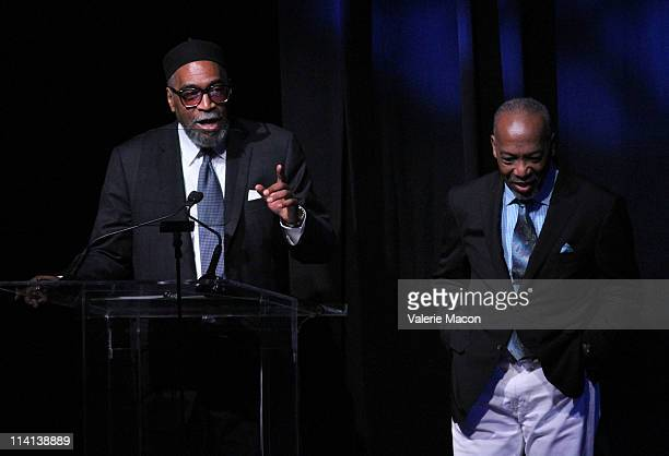 Songwriters Kenneth Gamble and Leon Huff attend the 53rd Annual NARM Convention Awards Dinner on May 12 2011 in Los Angeles California