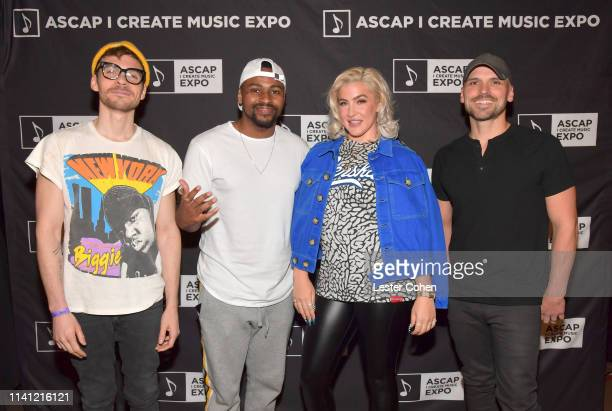 Songwriters Matthew Koma Steven Battey Joelle James and Jon Nite attend The 2019 ASCAP I Create Music EXPO Day 3 at Lowes Hollywood Hotel on May 4...