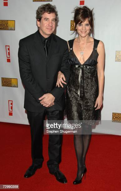 Songwriters Scott Cutler and Anne Preven arrive at the 12th Annual Critics' Choice Awards held at the Santa Monica Civic Auditorium on January 12...