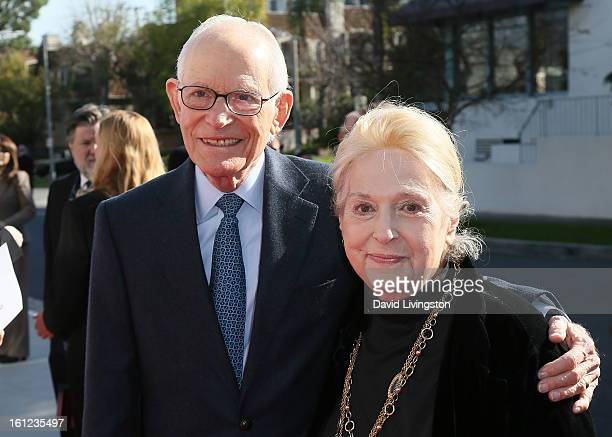 Songwriters/husband and wife Alan Bergman and Marilyn Bergman attend The Recording Academy Special Merit Awards Ceremony at the Wilshire Ebell...