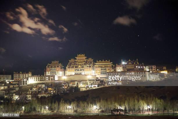 songzanlin monastery - far east stock photos and pictures