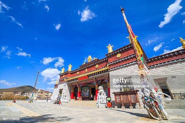 Songzanlin Temple also known as the Ganden Sumtseling Monastery, is a Tibetan Buddhist monastery in Zhongdian city( Shangri-La), Yunnan province China and is closely Potala Palace in Lhasa