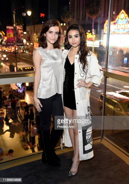 Soni Bringas and Ciara RIley Wilson attend Ciara Riley Wilson's 18th birthday party at The Venue of Hollywood on March 31 2019 in Hollywood California