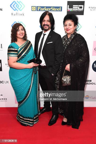 Soni Singh Rocky Singh and Bimmy Rai attend the Brit Asia TV Music Awards 2019 at SSE Arena Wembley on November 30 2019 in London England