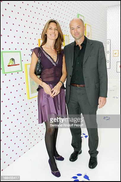 Sonia and Bruno Ledoux at Robert Wilson's Fables De La Fontaine Exposition