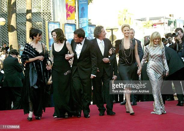 Sonia Aquino, Emily Watson, Peter Hopkins, Geoffrey Rush, Charlize Theron and Britt Ekland