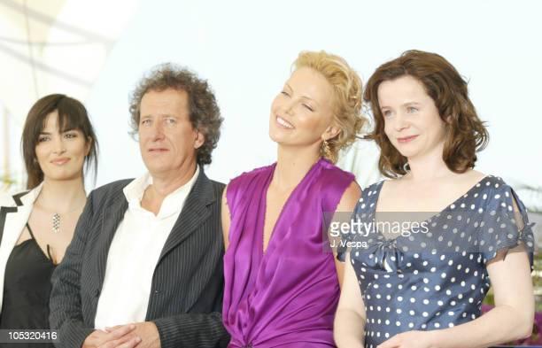 Sonia Aquino Geoffrey Rush Charlize Theron and Emily Watson