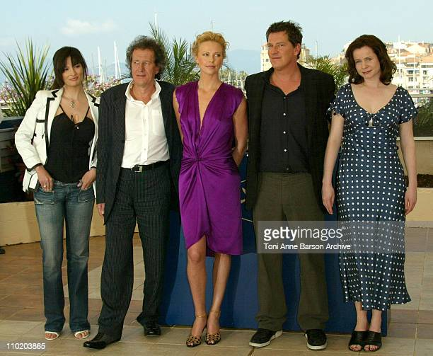 Sonia Aquino, Geoffrey Rush, Charlize Theron, Peter Hopkins and Emily Watson