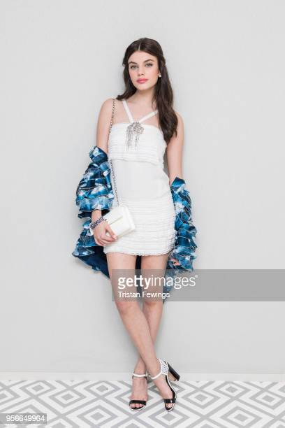 Sonia Ben Ammar attends at Albane by Costes JW Marriott Rooftop on May 9 2018 in Cannes France
