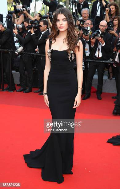 Sonia Ben Ammar attends 'The Beguiled' premiere during the 70th annual Cannes Film Festival at Palais des Festivals on May 24 2017 in Cannes France