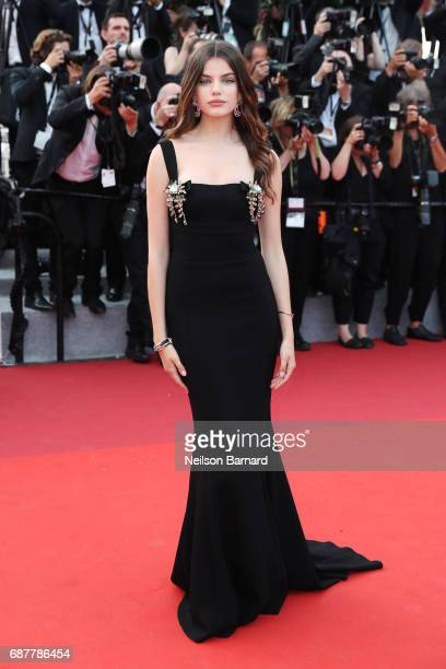 Sonia Ben Ammar attends the The Beguiled screening during the 70th annual Cannes Film Festival at Palais des Festivals on May 24 2017 in Cannes France