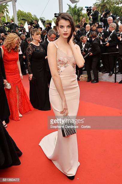 Sonia Ben Ammar attends the The BFG Premiere during the annual 69th Cannes Film Festival at the Palais des Festivals on May 14 2016 in Cannes France