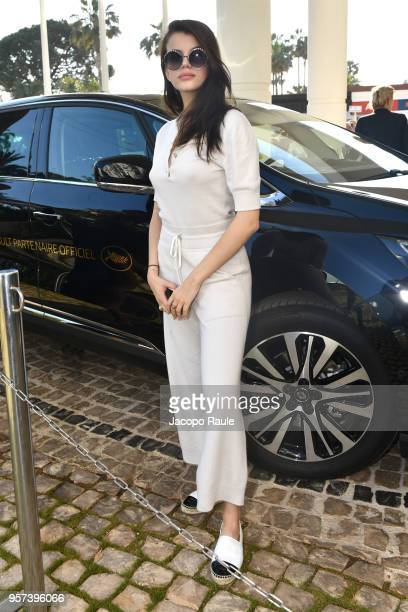 Sonia Ben Ammar is seen during the 71st annual Cannes Film Festival at on May 11 2018 in Cannes France