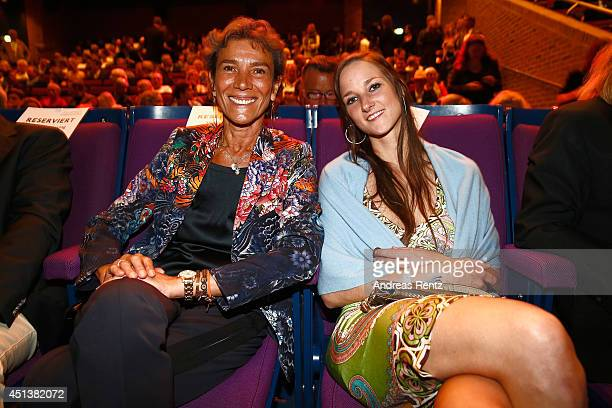 Sonia Bogner and Florinda Bogner attend the Willy Bogner Gala as part of Filmfest Muenchen 2014 at Gasteig on June 28, 2014 in Munich, Germany.