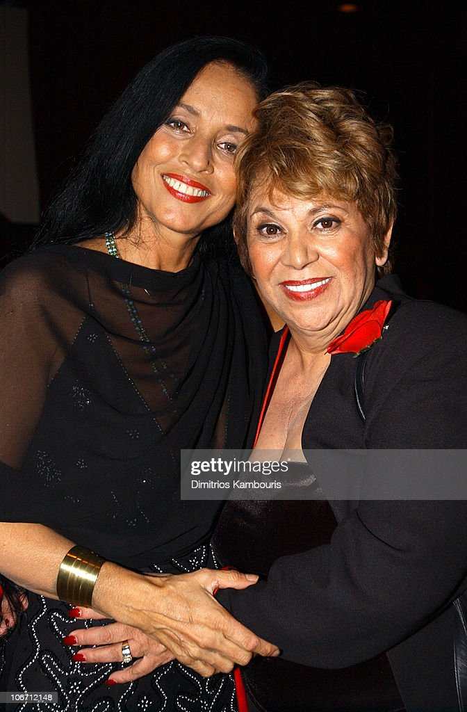 Sonia Braga and Lupe Ontiveros during HBO Films/Newmarket Films 'Real Women Have Curves' Premiere - After-Party - New York at B.B. King's Blues Club and Grill in New York, New York, United States.