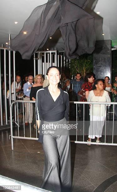 Sonia Braga during Chico Buarque Concert at Canecao January 5 2007 at Canecao in Rio de Janeiro Brazil
