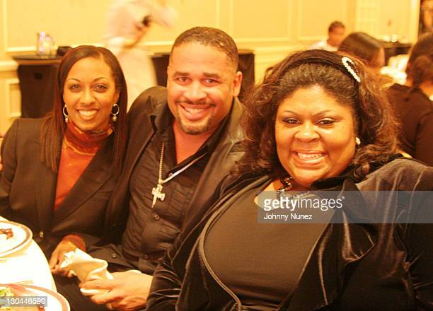 Sonia Cage Byron Cage and Kim Burell during The 49th Annual GRAMMY Awards Mercedes Benz Presents The AEC 5th Annual Artist Celebration Luncheon...
