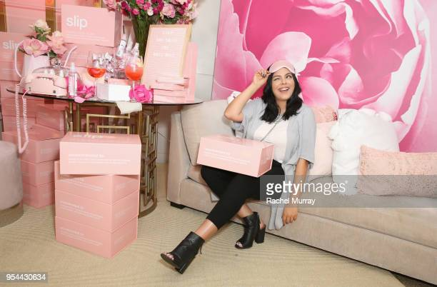Sonia Casteneda attend a 'Girls' Night In' hosted by Mandy Moore and Garnier at Hills Penthouse on May 3 2018 in West Hollywood California