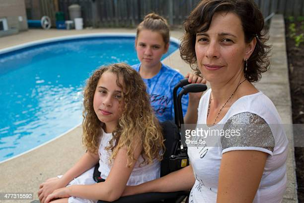 Sonia Commisso the Mississauaga mother of Alessia 12 is frustrated that she can only buy one companion ticket for a PanAm swim event It means that...