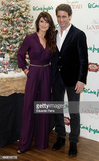 Sonia Ferrer and Alvaro Munoz Escassi attend El Corte Ingles Christmas space party photocall at El Corte Ingles store on November 19 2013 in Madrid...