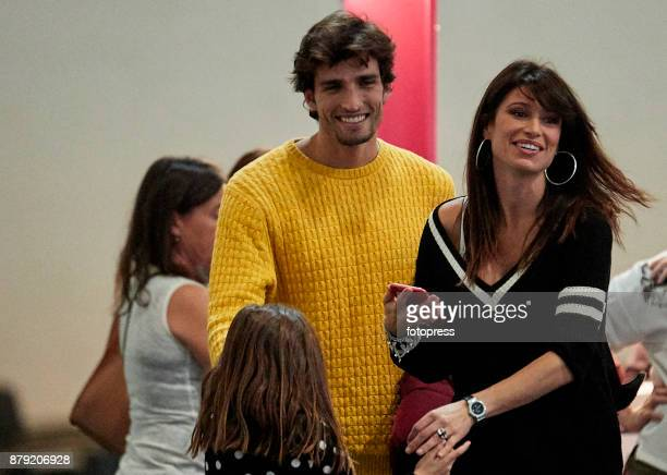 Sonia Ferrer and Nahuel Casares attend the Madrid Horse Week 2017 at IFEMA on November 25 2017 in Madrid Spain