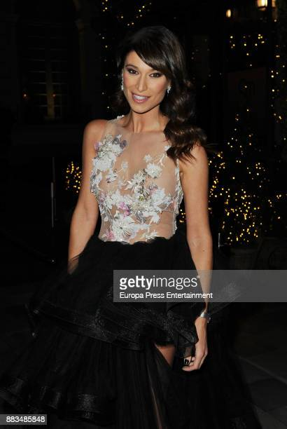 Sonia Ferrer attends the Hannibal Laguna 30th anniversary Gala Dinner at the Santo Mauro hotel on November 30 2017 in Madrid Spain