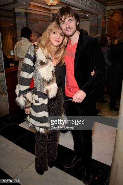 Sonia Friedman and Joe Murphy attend the press night performance of Hamilton at The Victoria Palace Theatre on December 21 2017 in London England