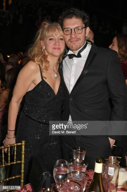 Sonia Friedman and Robert Icke attend the London Evening Standard Theatre Awards 2017 at the Theatre Royal Drury Lane on December 3 2017 in London...