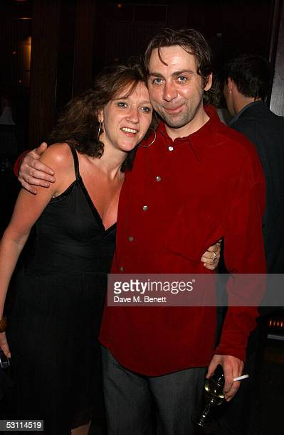 Sonia Friedman and Sean Hughes attend the after show party following the opening night of the new West End production at Wyndham's Theatre of 'As You...