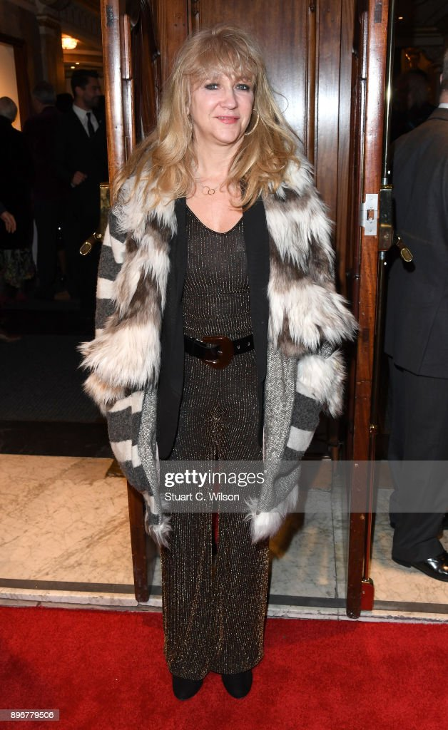 Sonia Friedman attends the opening night of 'Hamilton' at Victoria Palace Theatre on December 21, 2017 in London, England.