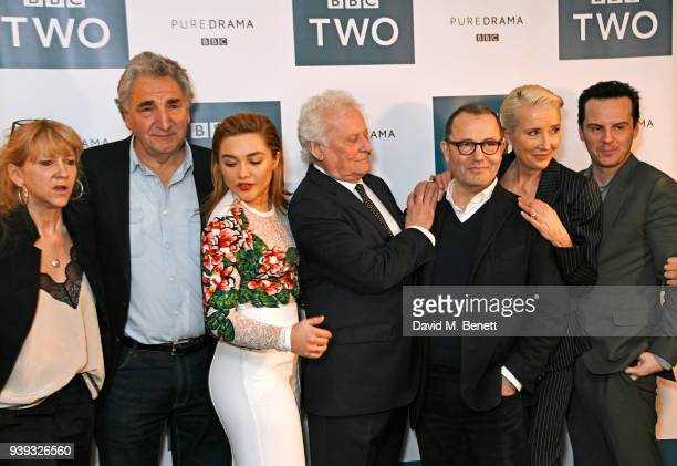 Sonia Friedman, Jim Carter, Florence Pugh, Sir Richard Eyre, Colin Callender, Emma Thompson and Andrew Scott attend a special screening of new BBC...
