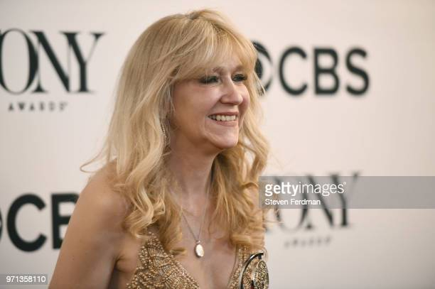 Sonia Friedman poses in the 72nd Annual Tony Awards Media Room at 3 West Club on June 10 2018 in New York City