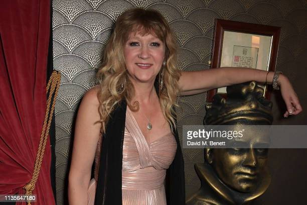 Sonia Friedman winner of Best Revival for Summer And Smoke attends The Olivier Awards 2019 with Mastercard at The Royal Albert Hall on April 7 2019...