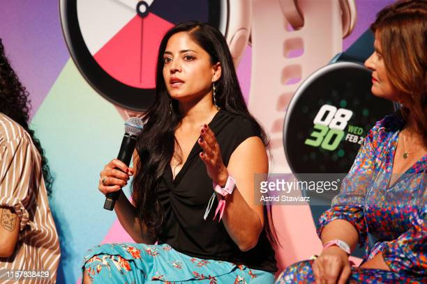 Sonia Hunt speaks onstage during POPSUGAR Play/Ground at Pier 94 on June 23, 2019 in New York City.