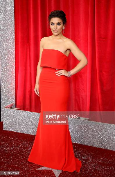 Sonia Ibrahim attends The British Soap Awards at The Lowry Theatre on June 3 2017 in Manchester England The Soap Awards will be aired on June 6 on...