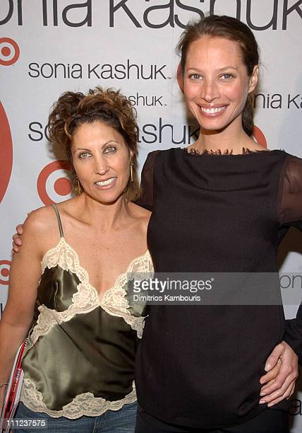Sonia Kashuk and Christy Turlington during Cindy Crawford and Target Celebrate Launch of Sonia Kashuk's New Book at The Wiskey at W New York Times...
