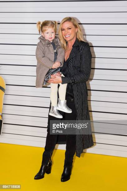 Sonia Kruger and Daughter attends the Despicable Me 3 Premiere at Entertainment Quarter on June 10 2017 in Sydney Australia