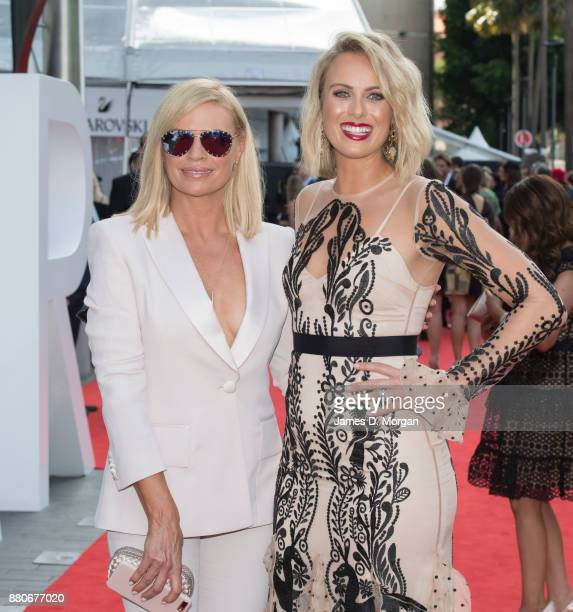 Sonia Kruger and Sylvia Jeffreys arrive for the 31st Annual ARIA Awards 2017 at The Star on November 28 2017 in Sydney Australia