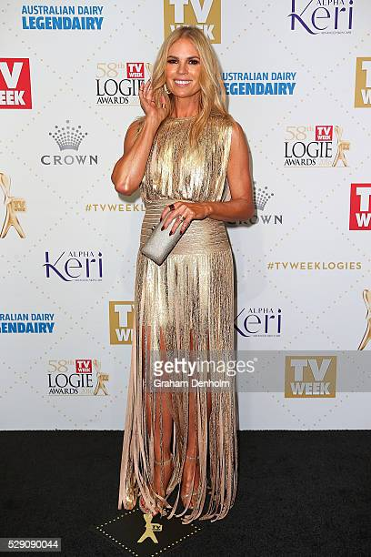 Sonia Kruger arrives at the 58th Annual Logie Awards at Crown Palladium on May 8 2016 in Melbourne Australia
