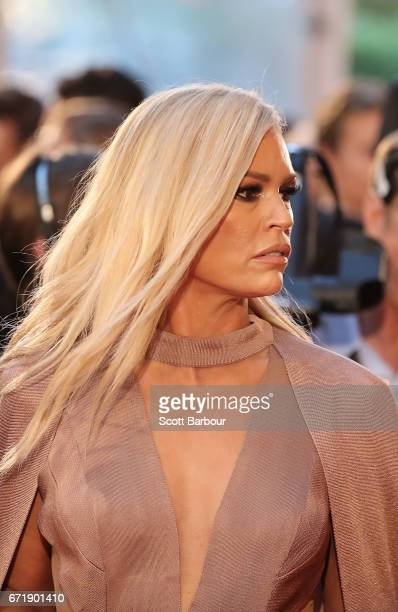 Sonia Kruger arrives at the 59th Annual Logie Awards at Crown Palladium on April 23 2017 in Melbourne Australia