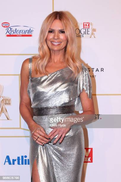 Sonia Kruger arrives at the 60th Annual Logie Awards at The Star Gold Coast on July 1 2018 in Gold Coast Australia