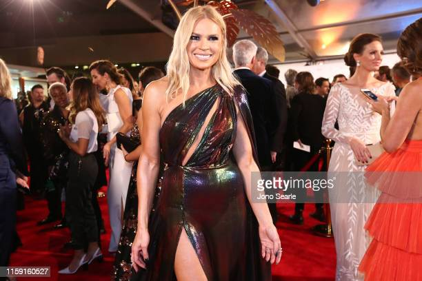 Sonia Kruger arrives at the 61st Annual TV WEEK Logie Awards at The Star Gold Coast on June 30 2019 on the Gold Coast Australia