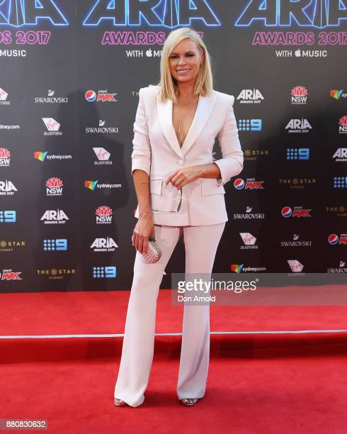 Sonia Kruger arrives for the 31st Annual ARIA Awards 2017 at The Star on November 28 2017 in Sydney Australia