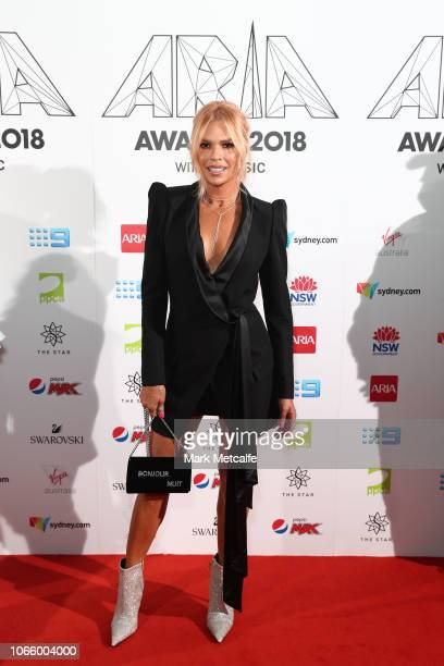 Sonia Kruger arrives for the 32nd Annual ARIA Awards 2018 at The Star on November 28 2018 in Sydney Australia