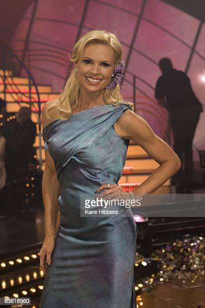 Sonia Kruger arrives for the grand final event for Dancing With The Stars 2008 at the Channel Seven studios on November 8 2008 in Melbourne Australia