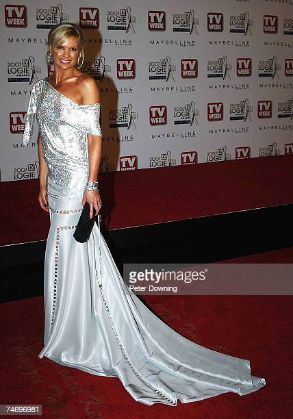 Sonia Kruger at the 2007 TV Week Logie Awards Arrivals at Crown Casino in Sydney NSW