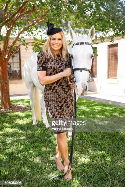 Sonia Kruger attends the Autumn Racing Carnival media launch on March 09, 2021 in Sydney, Australia.