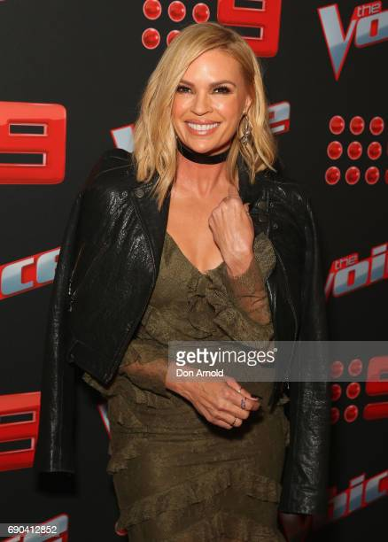 Sonia Kruger attends the Voice Live Show Launch 2017 on May 31 2017 in Sydney Australia