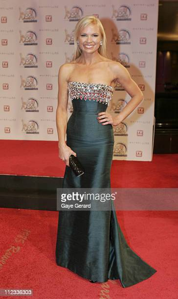 Sonia Kruger during 2006 TV Week Logie Awards Arrivals at Crown Casino in Melbourne VIC Australia