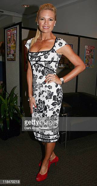Sonia Kruger during 2007 TV WEEK Logie Awards Nominations Media Call at The Crystal Ballroom Luna Park in Sydney NSW Australia